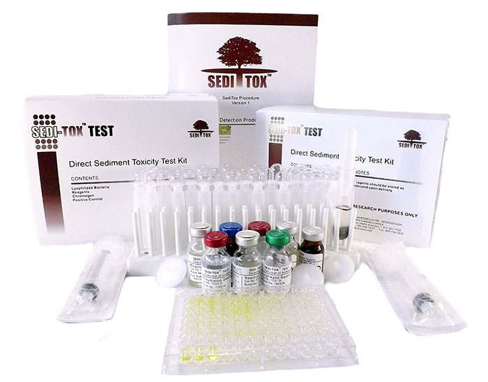 sediment toxicity test kit